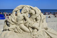 Revere Beach Sand Sculptures