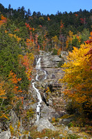 Silver Cascade Waterfall w/ Fall Foliage